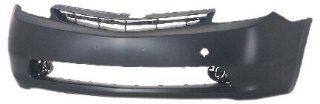 OE Replacement Toyota Prius Front Bumper Cover (Partslink Number TO1000274) Automotive