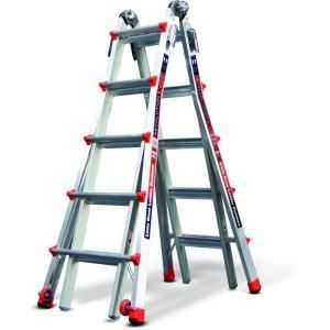 Little Giant Ladder Revolution 22 ft. Aluminum Multi Position Ladder with 300 lb. Load Capacity Type IA Duty Rating 12022