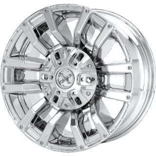 American Racing ATX Clash 17x8.5 Chrome Wheel / Rim 6x5.5 with a 15mm Offset and a 78.30 Hub Bore. Partnumber AX609078538A Automotive