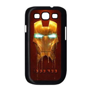 Unique Fashion Cool Iron man Customized Special DIY Personalized Hard Plastic Case for Samsung Galaxy S3 I9300 Cell Phones & Accessories
