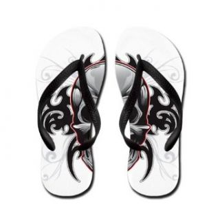 Artsmith, Inc. Women's Flip Flops (Sandals) Tribal Skull Clothing
