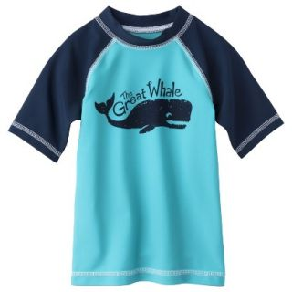 Circo Infant Toddler Boys Whale Rashguard   Blue 9 M