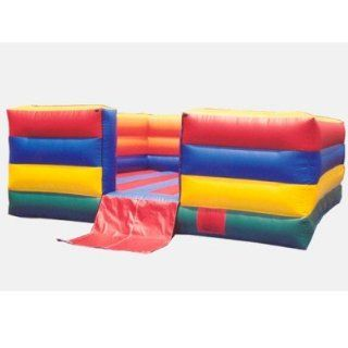 Kidwise 13 Foot Indoor Fun House Bounce House (Commercial Grade) Toys & Games
