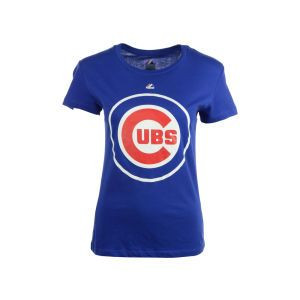 Chicago Cubs Majestic MLB Number 1 Mom T Shirt