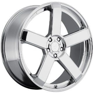 Dropstars 644C 24 Chrome Wheel / Rim 5x4.5 & 5x4.75 with a 20mm Offset and a 83.82 Hub Bore. Partnumber 644C 2490420 Automotive