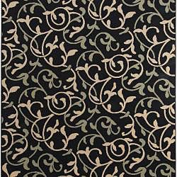 Cafe Floral Indoor/Outdoor Rug (7'6 x 10'6) Surya 7x9   10x14 Rugs