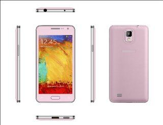 2014 New Design Ultra thin Generic Unlocked Quadband Dual Sim With 4.63 Inch Capacitive Touch Screen 3G Smart Phone Simple Mobile Phone MINI 900(Pink) Cell Phones & Accessories