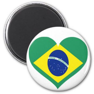 Brazil Love Fridge Magnet