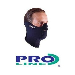 Proline High Quality Neoprene Thermal Face Mask/Balaclava   Excellent thermal all weather protection, super plush towelling lines Sizes Small   Large Sports & Outdoors