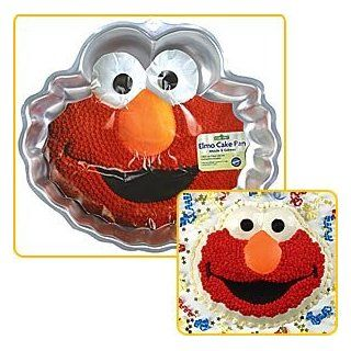 Party Supplies   Elmo Cake Pan Toys & Games