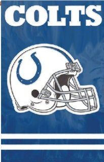 Indianapolis Colts NFL Applique 2 Sided House Banner Flag