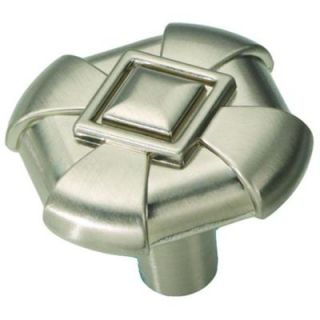 Hickory Hardware Chelsea 1 1/8 in. Stainless Steel Cabinet Knob P3455 SS