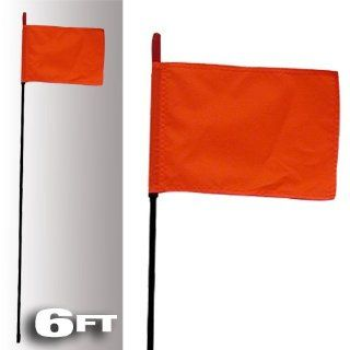 BLACK FIRE STICK W/ORANGE SAFETY FLAG   6FT, Manufacturer FIRESTIK, Part Number FS602 AD, VPN F6 BLACK 8120R AD, Condition New Automotive