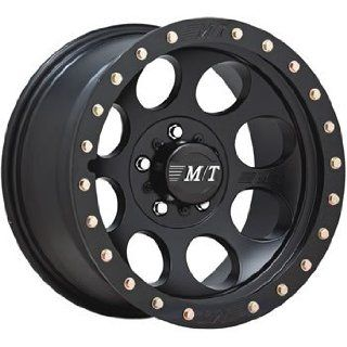 Mickey Thompson Classic Lock 15x8 Black Wheel / Rim 5x5.5 with a  30mm Offset and a 107.95 Hub Bore. Partnumber 1358401 Automotive