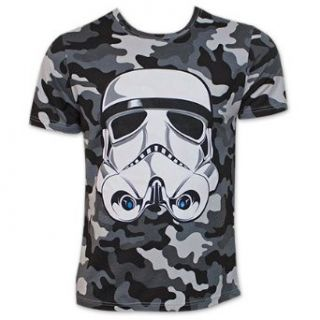 Star Wars Camo Stormtrooper Shirt Fashion T Shirts Clothing