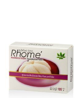 RHOME Thai Herbal, Mangosteen Transparent Soap 105 G.