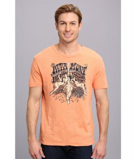 Lucky Brand Altamount Graphic Tee Mens T Shirt (Orange)