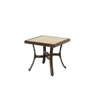 Hampton Bay Pembrey Patio Accent Table HD14217