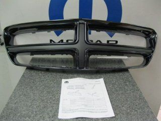 2011 2012 DODGE CHARGER BLACK CHROME GRILLE SURROUND TRIM PRODUCTION STYLE MOPAR Automotive