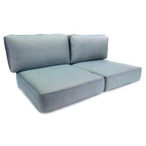 Hampton Bay Fenton Replacement Outdoor Loveseat Cushion JY9131 LV CUSH