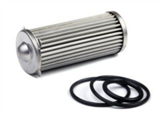 Holley 162 568 HP 40 Micron 260 GPH Billet Fuel Filter Element and O Ring Kit Automotive
