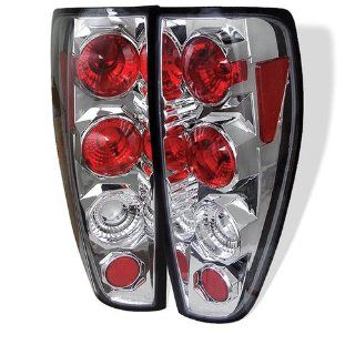 Chevy Colorado 04 05 06 07 08 09 10 Altezza Tail Lights + Hi Power White LED Backup Lights   Chrome (Pair) Automotive