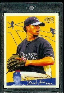 2008 Upper Deck Goudey # 181 James Shields   Rays   MLB Baseball Trading Card Sports Collectibles
