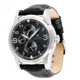 Field & Stream Men's F191GKSK Magnum Black Leather Strap Watch at  Men's Watch store.