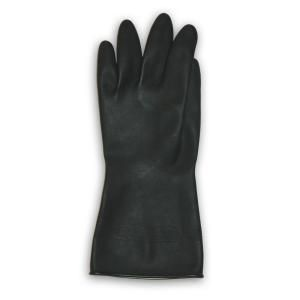 Trimaco Black Flock Lined Neoprene Gloves   XL 01909