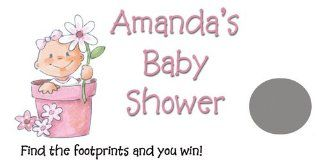 Baby Shower Game   Personalized Scratch Card  Party Favors  Baby