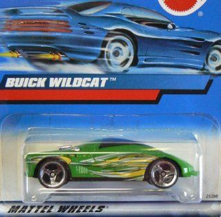 #2000 183 Buick Wildcat Collectible Collector Car Mattel Hot Wheels 164 Scale Toys & Games