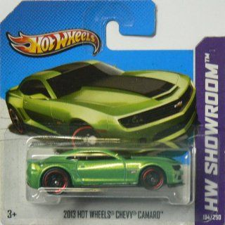 Hot Wheels HW Showroom 194/250 2013 Hot Wheels Chevy Camaro on Short Card