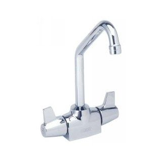 Elkay LKDC2088 Polished Chrome Universal ADA Compliant Single Hole Deck Mount Faucet   Plumbing Equipment