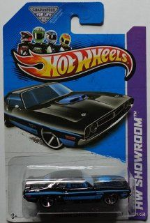 Hot Wheels HW Showroom '71 Dodge Challenger Black #222/250
