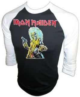 Vintage Iron Maiden 1981 Killers Iron On Concert Jersey Heavy Metal T Shirt Clothing