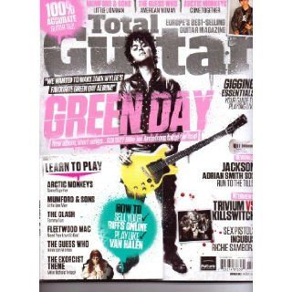 Total GUITAR Magazine   GREEN DAY + FREE CD. #233. Nov 2012. Various. Books