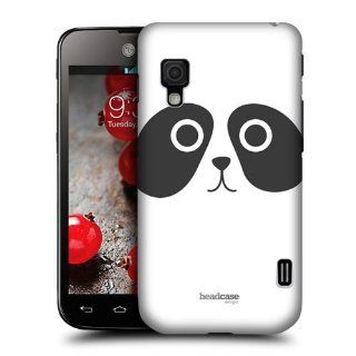 Head Case Designs Pedro The Panda Cartoon Animal Faces Hard Back Case Cover For LG Optimus L5 II Dual E455 Cell Phones & Accessories