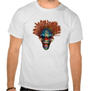 Crazy Clown T shirts