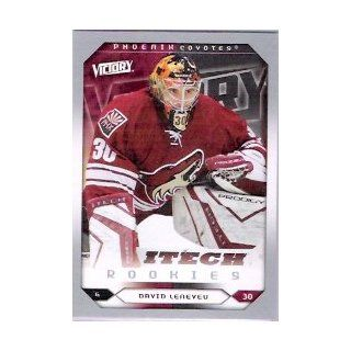 2005 06 Upper Deck Victory #267 David Leneveu RC Sports Collectibles