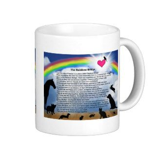 Rainbow Bridge Poem Coffee Mug