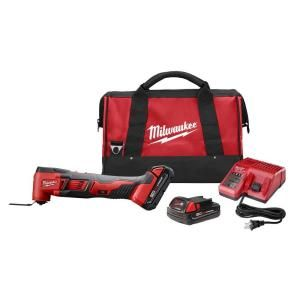 Milwaukee M18 18 Volt Lithium Ion Cordless Multi Tool Kit 2626 22CT