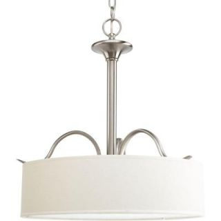 Progress Lighting Inspire Collection Brushed Nickel 3 Light Pendant P3931 09