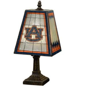The Memory Company NCAA 14 in. Auburn Tigers Art Glass Table Lamp COL AU 462