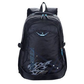 Fashion Commercial Double shoulder Laptop Casual Backpack for Man Blue  Other Products