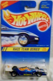 1994 1995 Hot Wheels Race Team Series 2 of 4 HOT WHEELS 500 #276 blue card (BLUE INDY CAR) Toys & Games