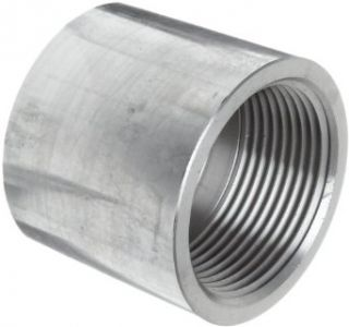 "Stainless Steel 304 Pipe Fitting, Cap, Class 1000, 3/4"" NPT Female Industrial Pipe Fittings"