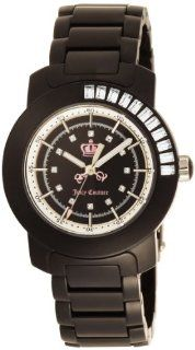Juicy Couture Women's 1900646 BFF Black Plastic Bracelet Watch Watches