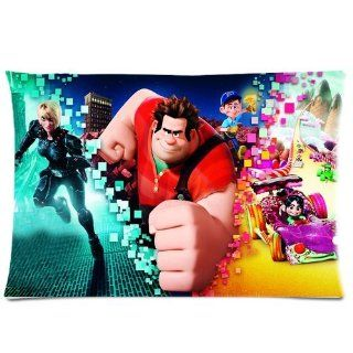 Pillow Cases Standard Size Cushion Covers 1 Side Wreck It Ralph Movie kids love it 20x30 D284 01   Pillowcases