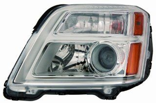 Depo 335 1161L AS GMC Terrain Driver Side Composite Headlamp Assembly with Bulb and Socket Automotive