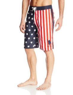 U.S. Polo Assn. Men's Stars and Stripes Americana Board Short at  Men�s Clothing store
